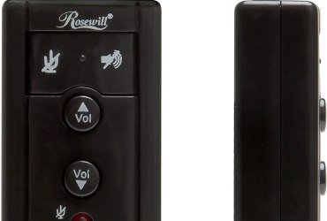 Rosewill RCAC-17001 7.1 Channel USB External Stereo Sound Adapter