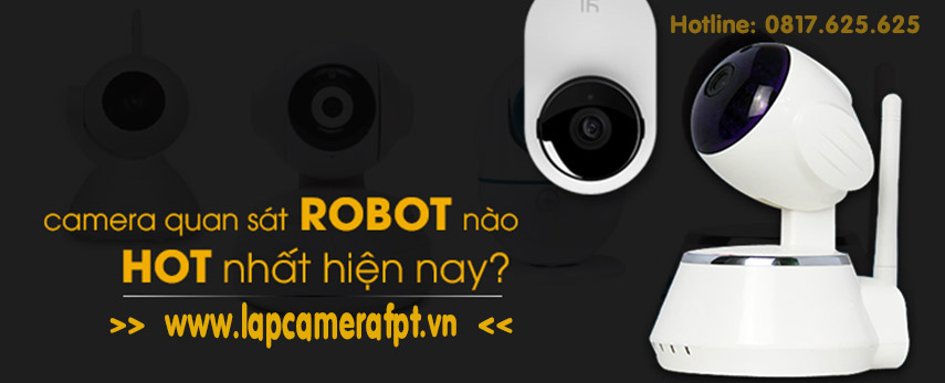 camera robot hot nhất