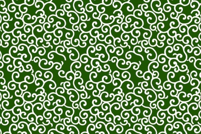 【和柄】日本花紋圖樣——唐草(からくさ)