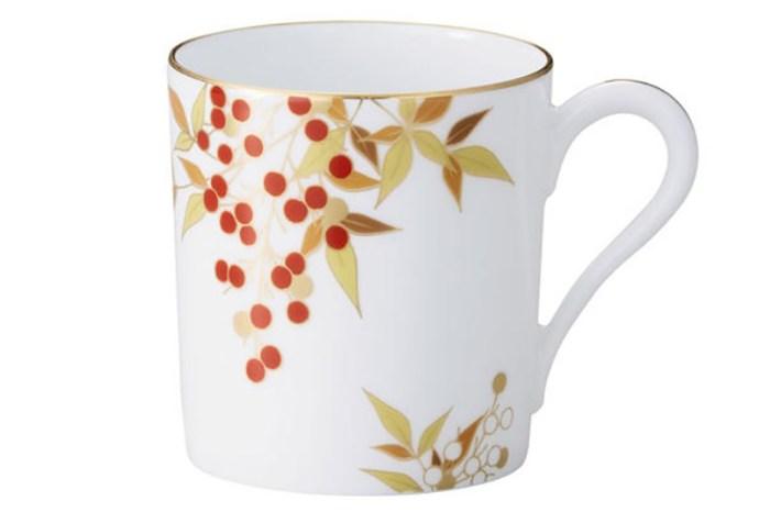 【和柄】日本花紋圖樣——南天(なんてん)