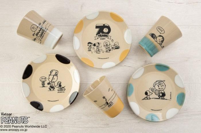 益子燒×史努比70周年聯名商品