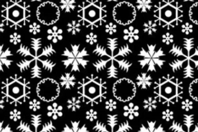 【和柄】日本花紋圖樣——雪(ゆき)