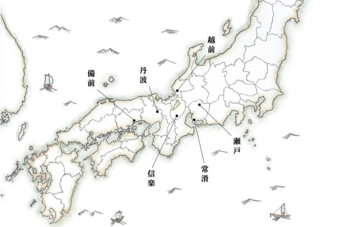 話說,日本六古窯是什麼?只要看完這篇文章就夠了。