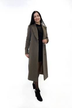Пальто из шерстяной ткани Туя c,jre