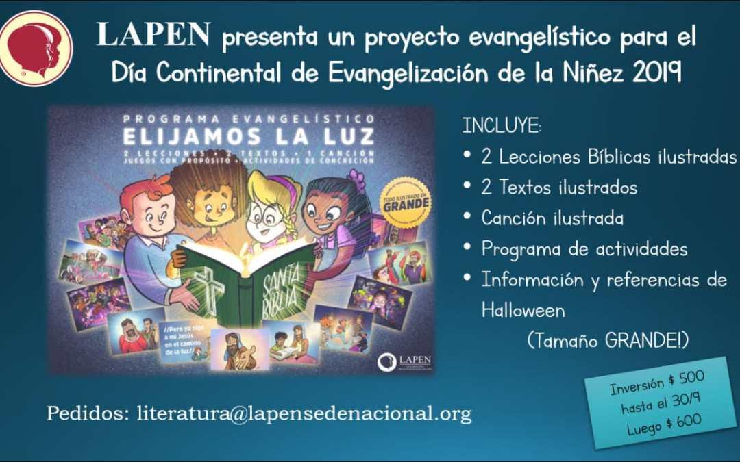 Día continental evangelización de la niñez 2019