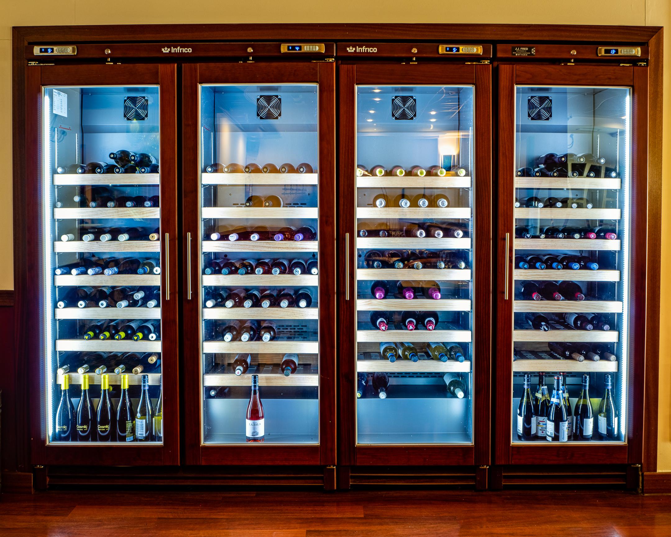 Carta de vins de La Pèrgola