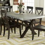 Good Zinc Top Dining Table Royals Courage
