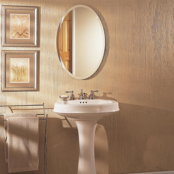 Recessed Medicine Cabinets With Mirrors Royals Courage Oval Cabinet In Rest Room
