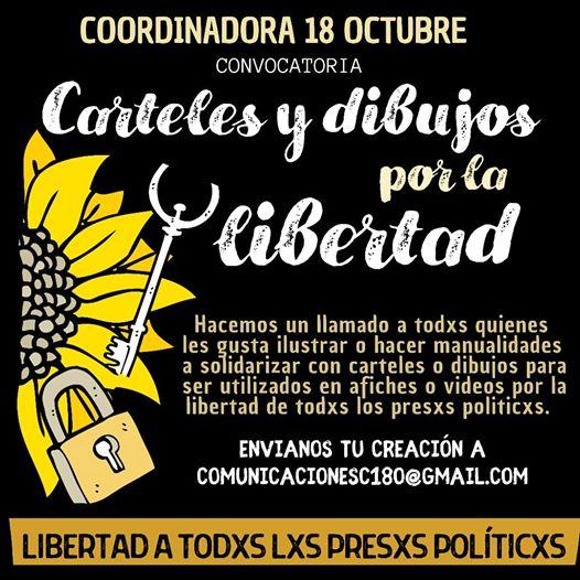 Convocatoria carteles y dibujos por la libertad | La peste ...