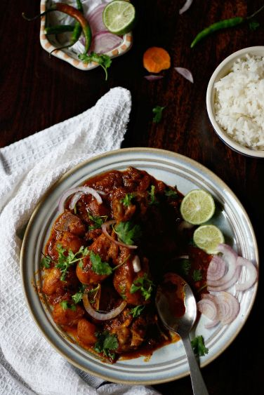 chicken vindaloo 14p