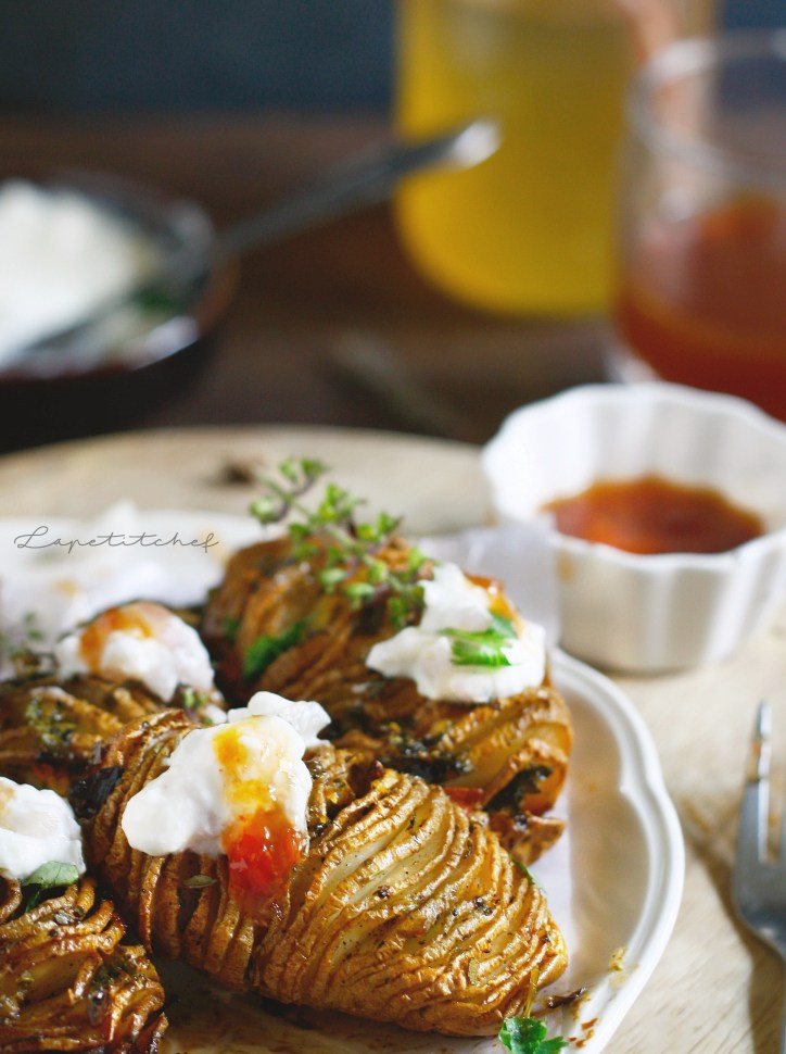 Garlic lime honey roasted potatoes are the perfect side dish perfect for the $th of July and even weeknights. Flavorful, crispy potatoes served with tzatziki dip