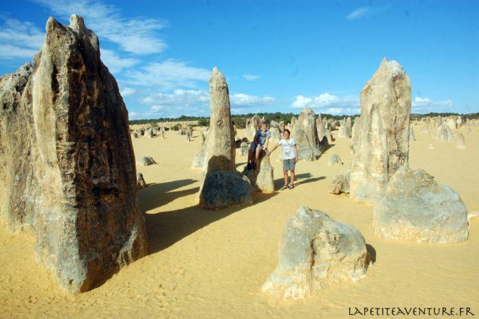 le désert des Pinacles en Australie