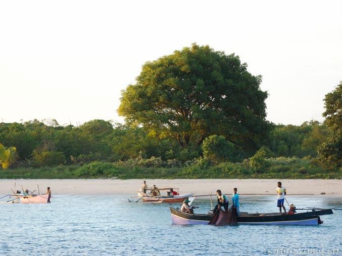 pêcheurs en indonésie