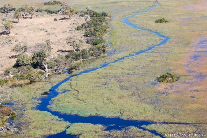 Botswana vu du ciel