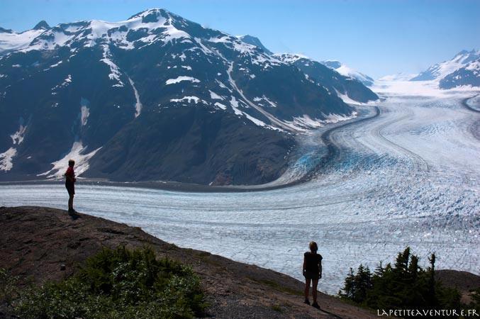 salmon glacier en Alaska