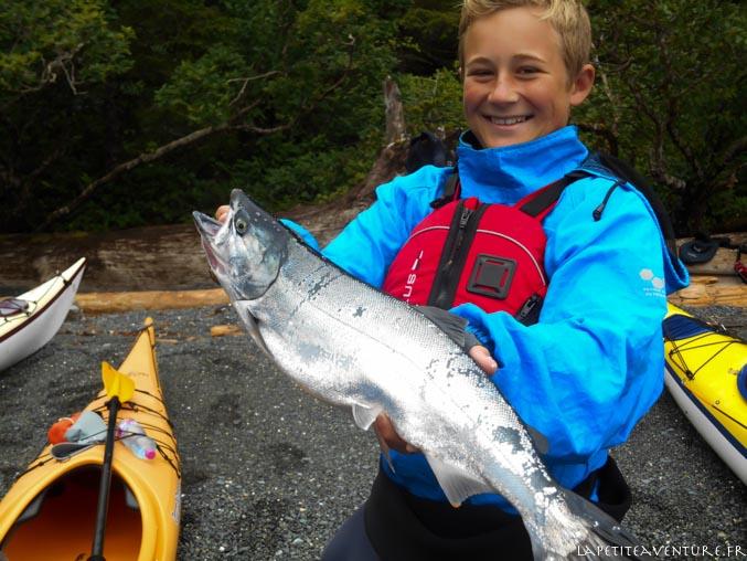 saumon du Pacifique au canada