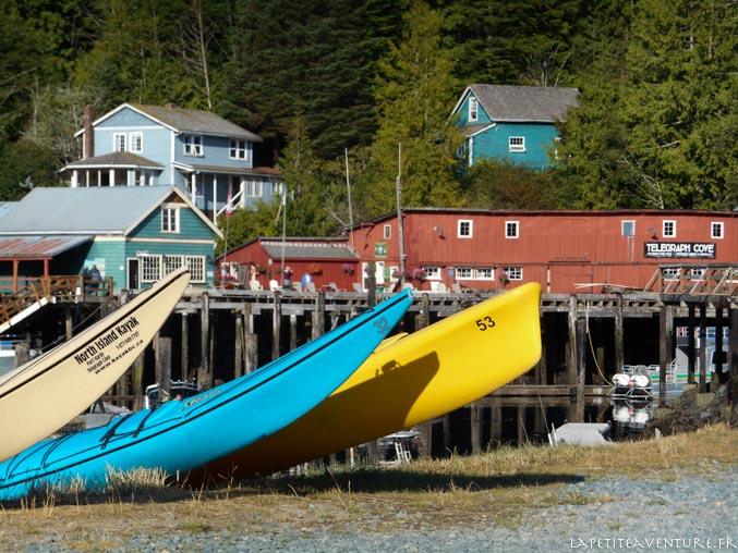 telagraph cove sur l'île de Vancouver