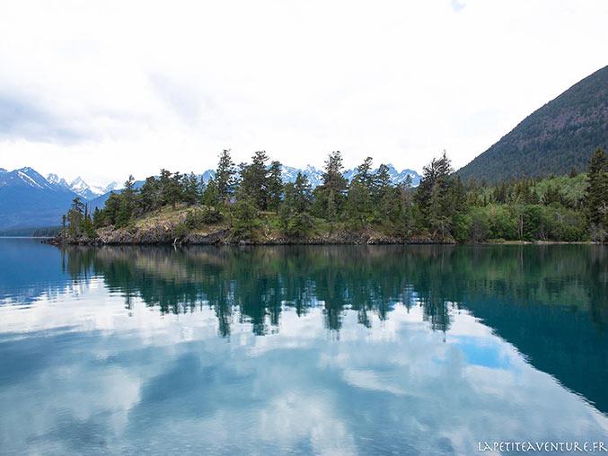 lac Chilko en Colombie Britannique