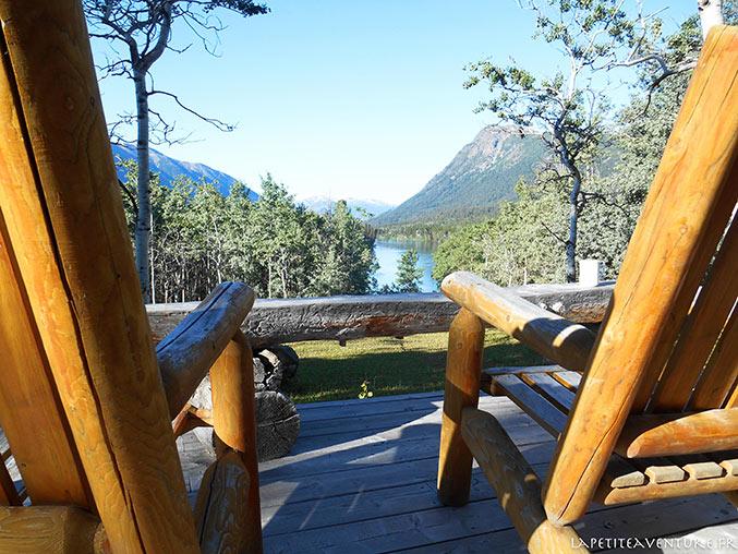 Terrasse du lac Chilko