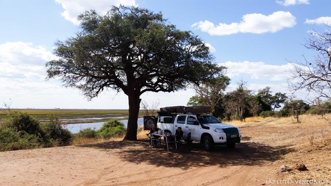 chobe au nord du botswana