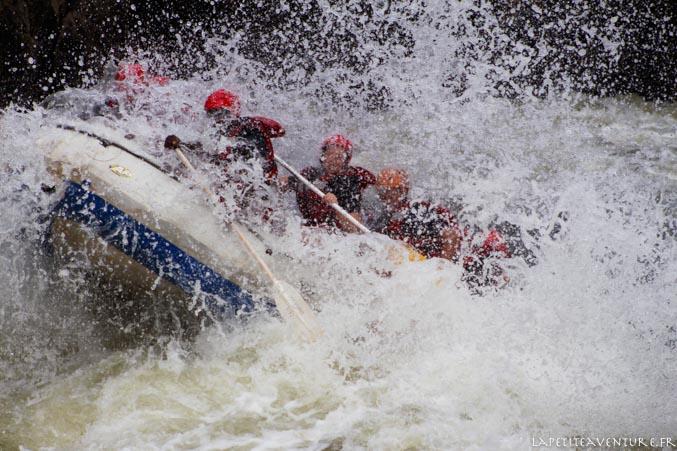 raft niveau 5 sur le zambèze