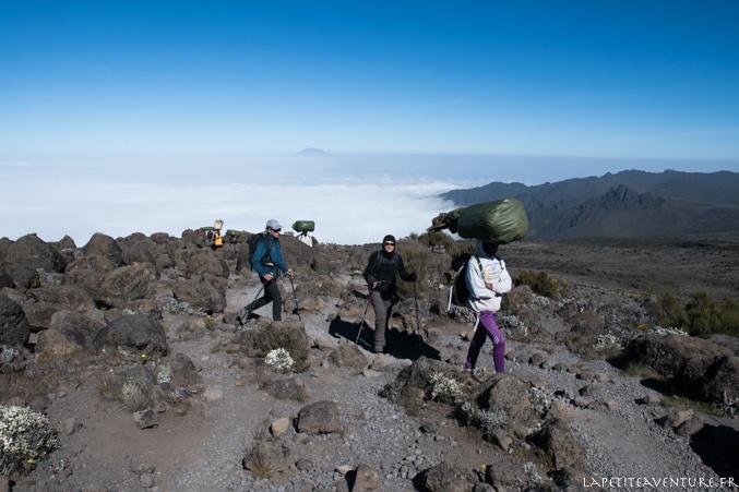marche vers le kilimandjaro