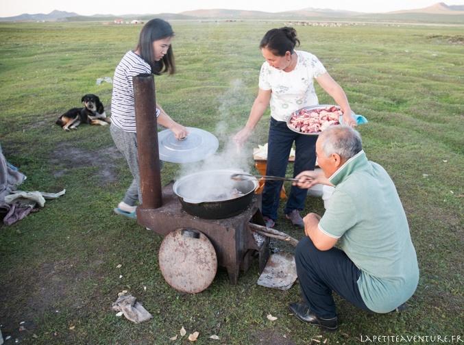 gastronomie en Mongolie