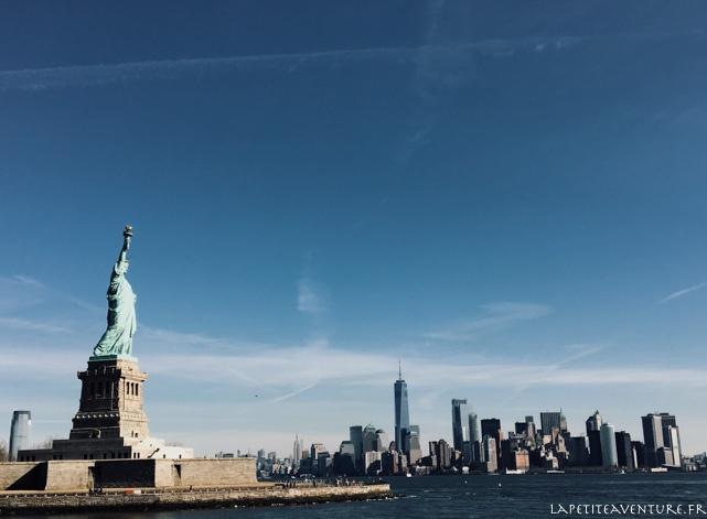 statue à New York