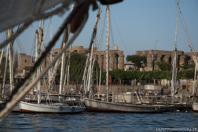 le port de Louxor
