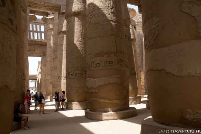 Piliers à Karnak
