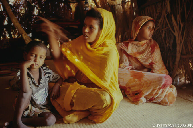 Campement en Mauritanie