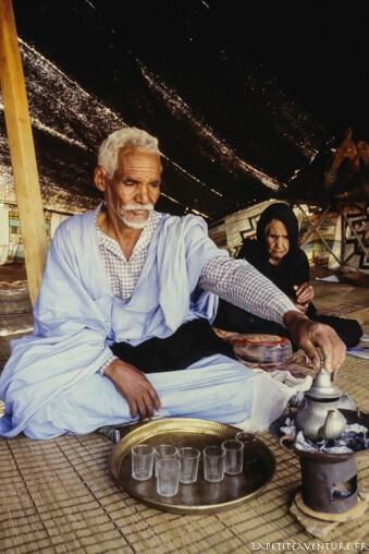 thé en Mauritanie