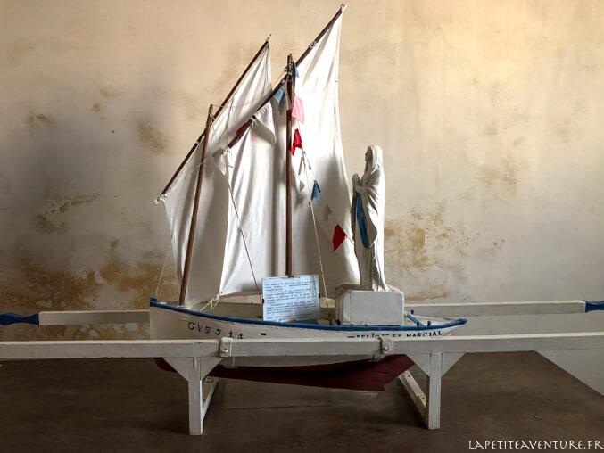 maquette de bateau à penhors