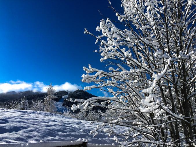 neige à Megeve
