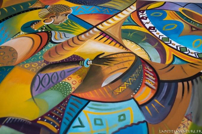 Tableau de couleurs de Mauritanie