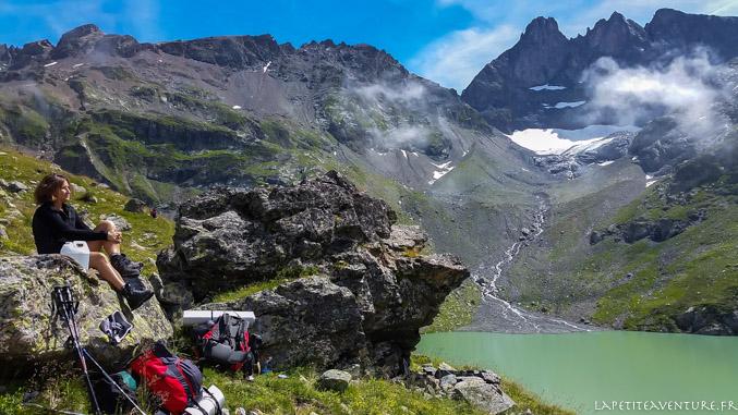 Lac Blanc, massif de Belledonne