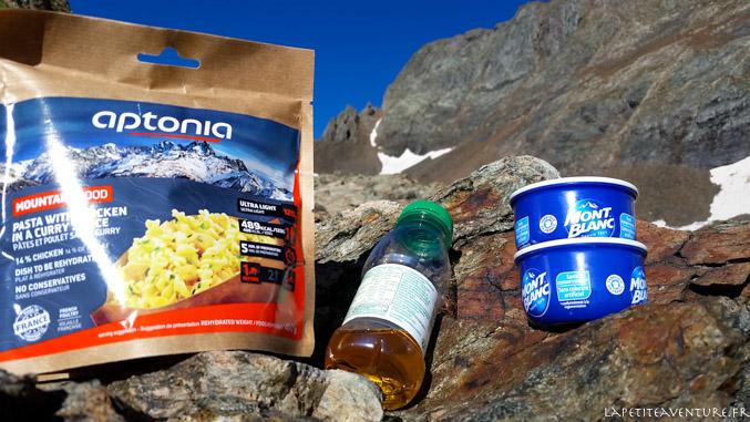 Nourriture de randonnée