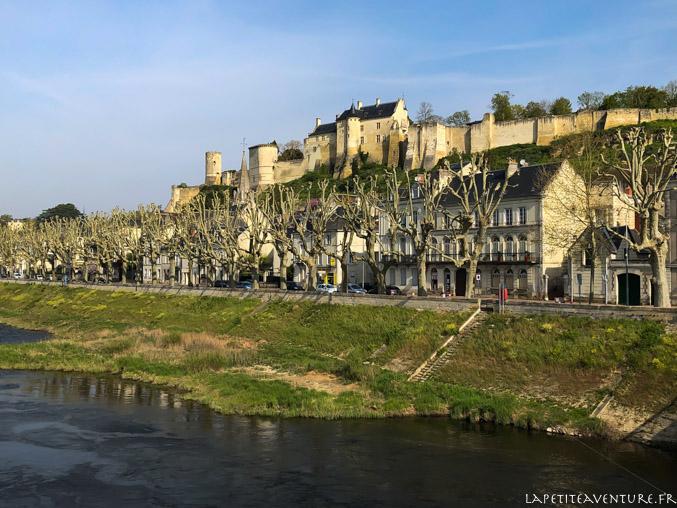Chinon et son château