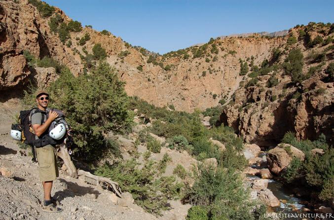 Rando dans le canyon de Joro