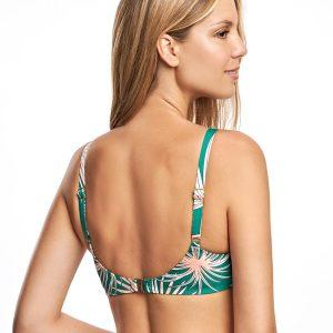 Bikini estampado balconette con aro