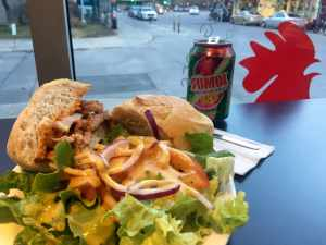 Le sandwich Bifana