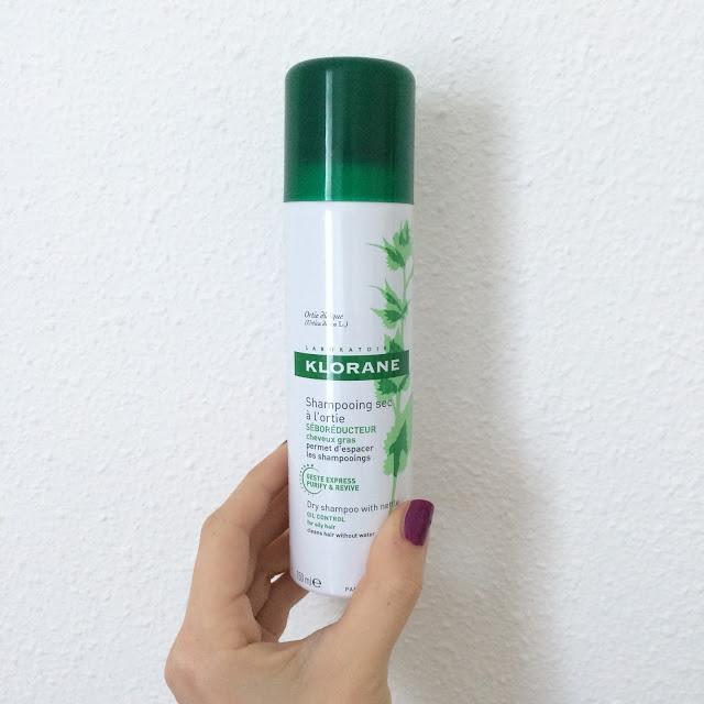 Avis shampooing sec Klorane - La Petite Frenchie