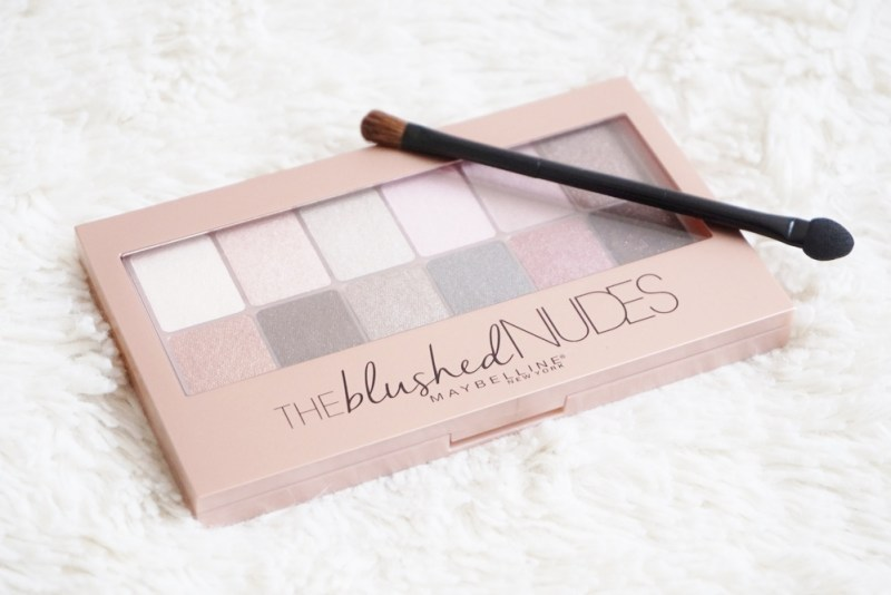 Avis Palette The Blushed Nudes Maybelline - La Petite Frenchie