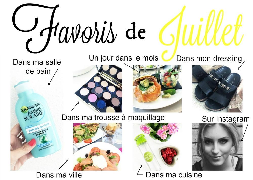 La Petite Frenchie - Favoris Juillet 2016