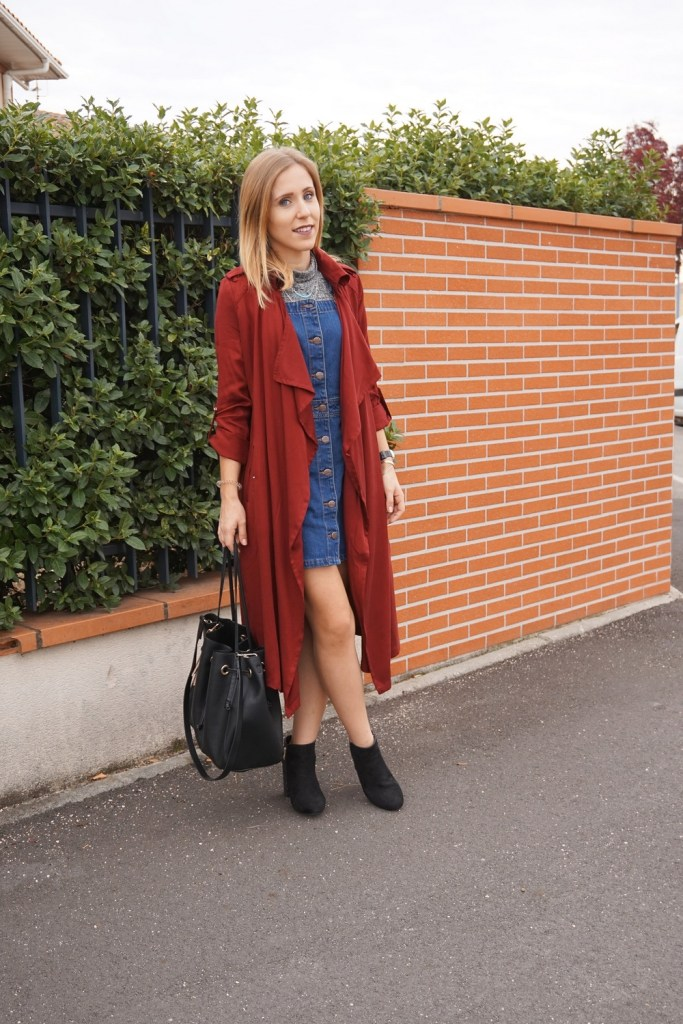 Look trench automne - La Petite Frenchie