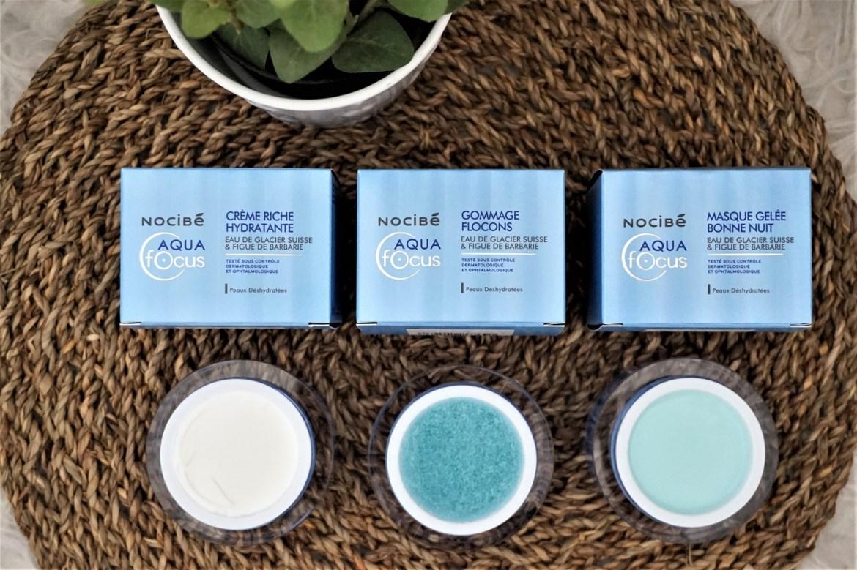 Avis soins Nocibé Aqua Focus - La Petite Frenchie