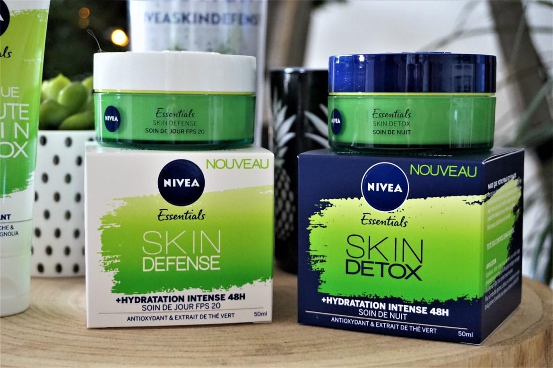Soins skin detox Nivea - La Petite Frenchie