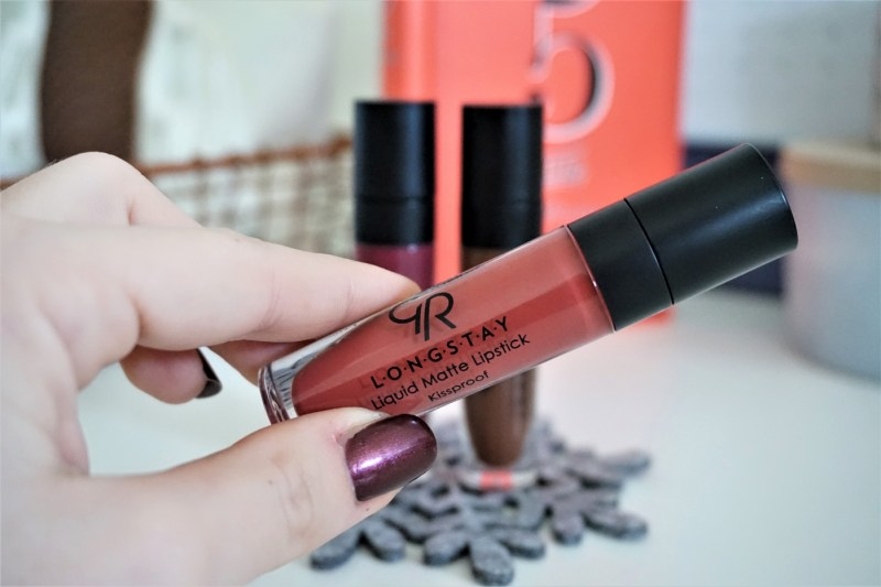 Longstay liquid matte lipstick Golden Rose - La Petite Frenchie