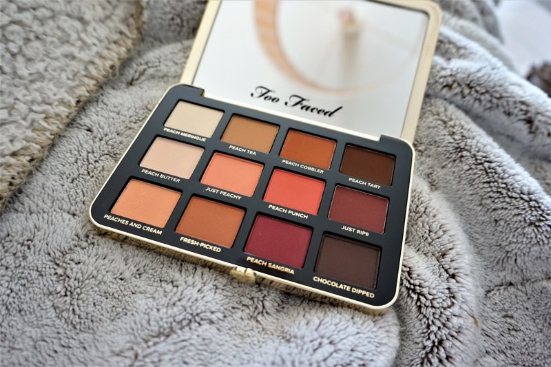 Palette Just Peachy Mattes Too faced - La Petite Frenchie