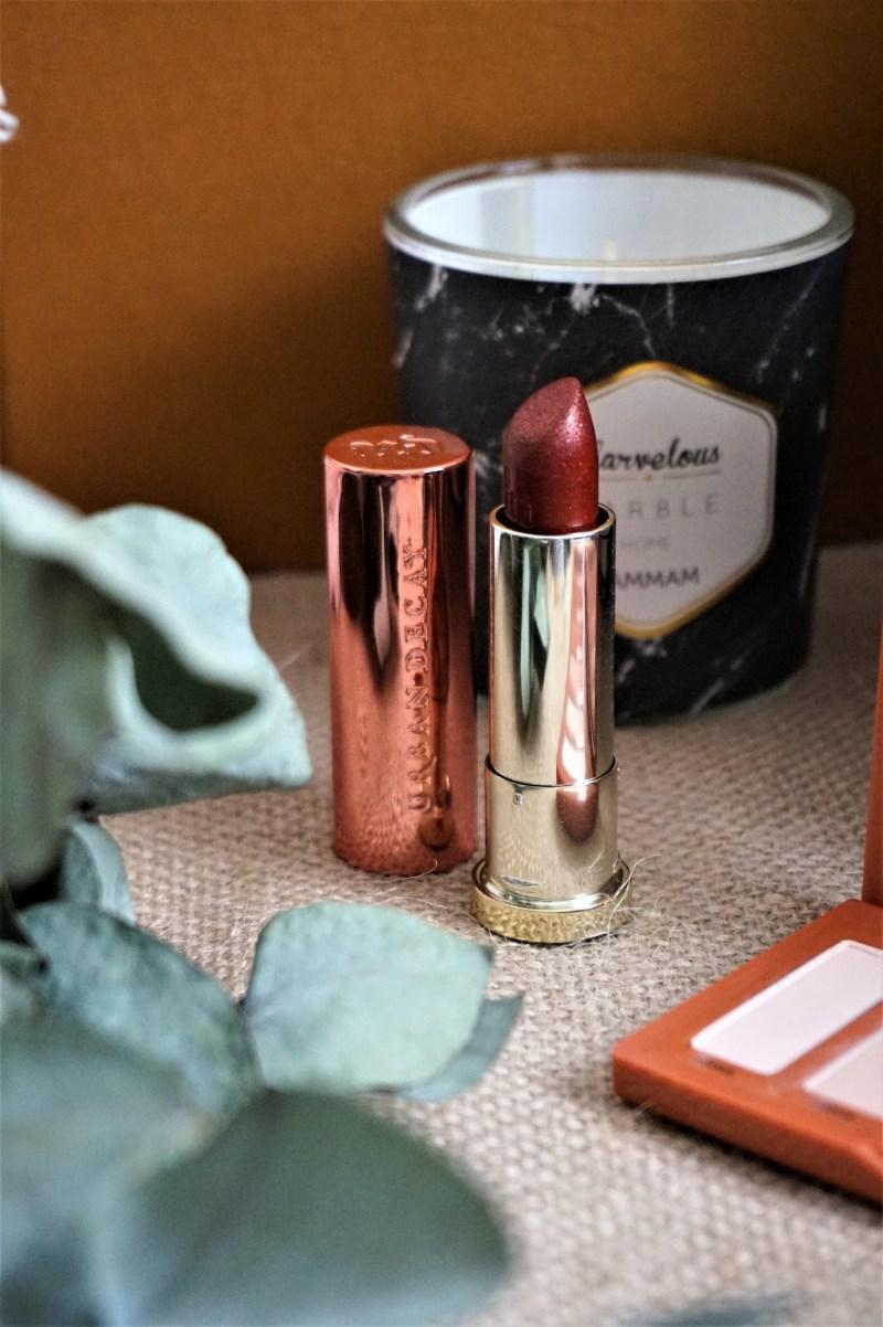 Vice Lipstick Naked Heat Urban Decay - La Petite Frenchie